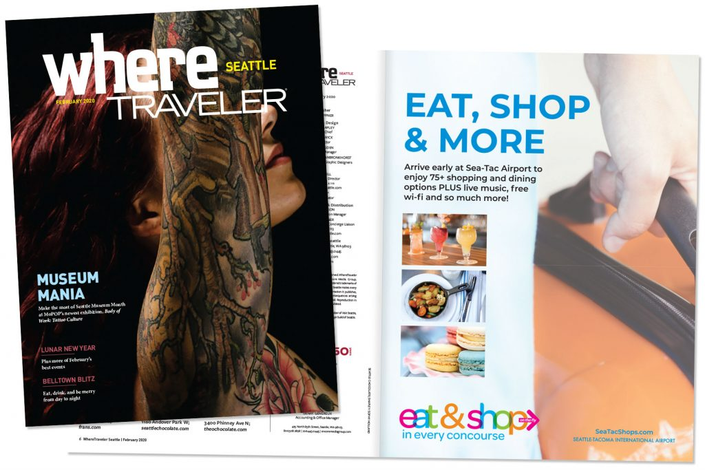 WhereTraveler Seattle magazine